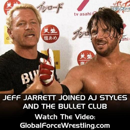 jeff joined bullet club aj styles instagram