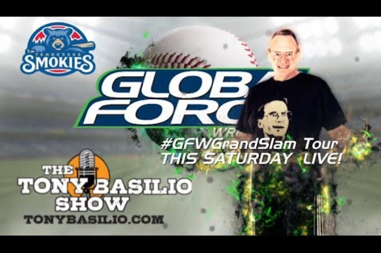 VIDEO: TONY BASILIO SHOW with Jim Cornette talking #GFWGrand Slam Tour and more…
