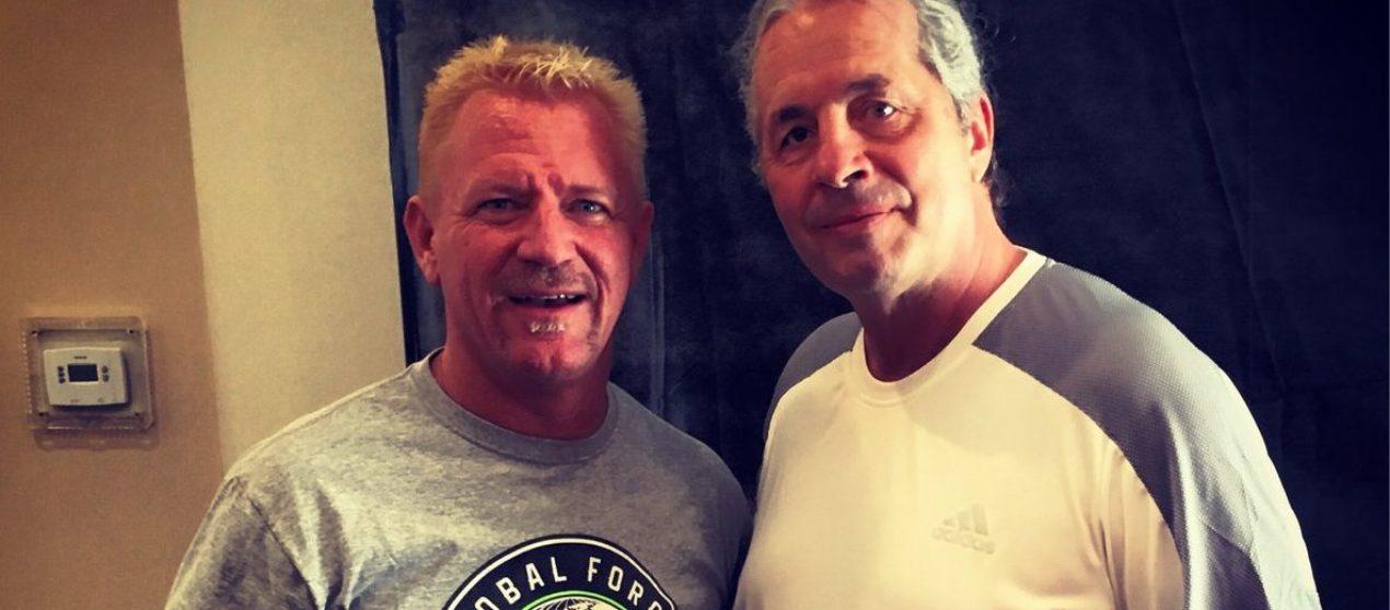 Jeff Jarrett catches up with Bret Hart
